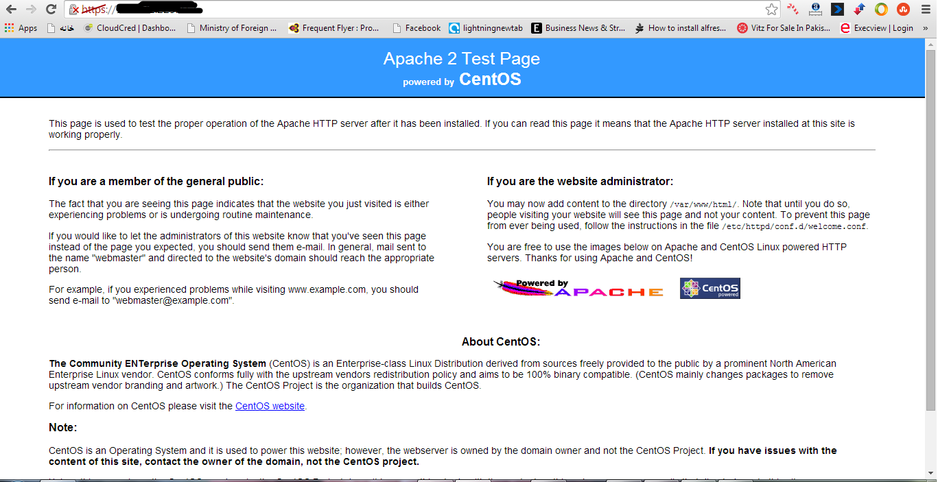 How To Configure Apache Server With Self Signed Certificate On